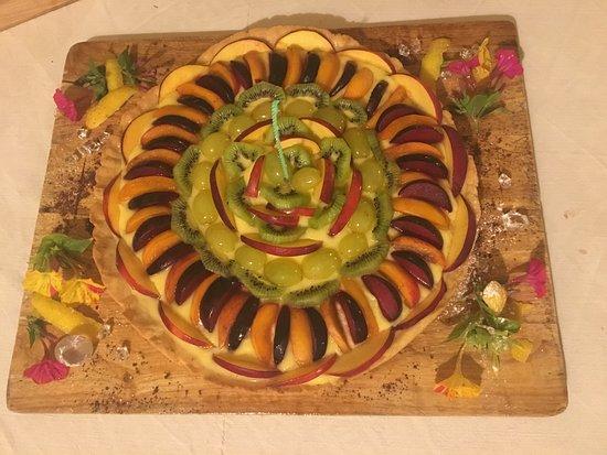 Buonconvento, Italy: torta di compleanno