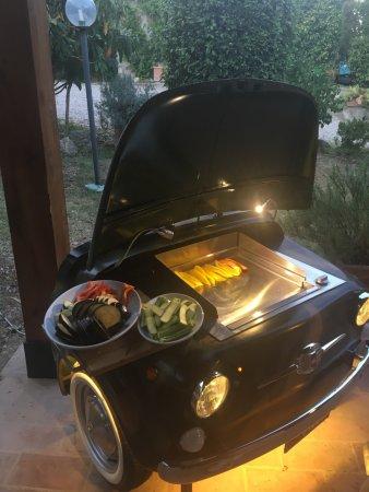 Buonconvento, Italy: verdure alla griglia del nostro orto !