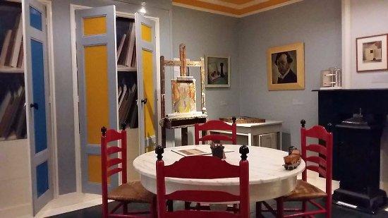 Kopie Stijlkamer gebroeders Rinsema in Museum Drachten, foto Wilma Lankhorst