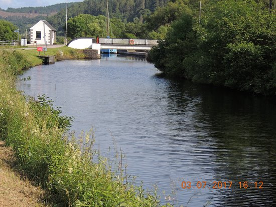 Cairnbaan, UK: Lock on the Crinan Canal