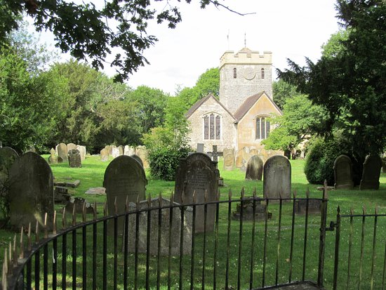 Horley, UK: Incredible church dating back to the 1100s.