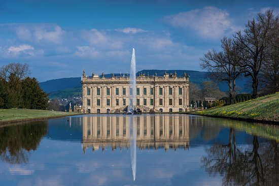 Bakewell, UK: Chatsworth House