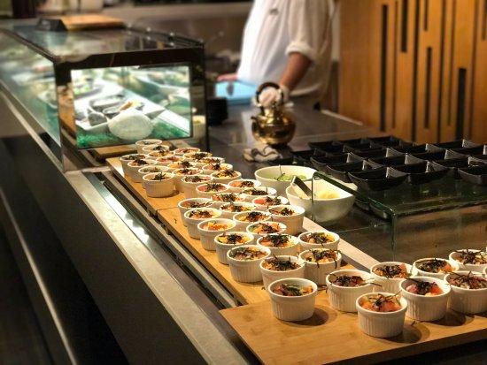 The Market: Sushi and sashimi