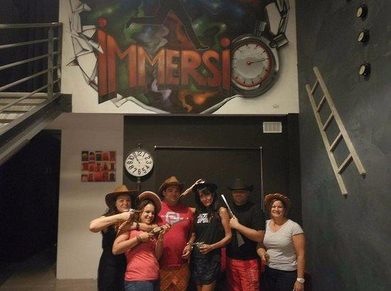La Ciotat, Fransa: Immersio tient à remercier et féliciter la Dream Team qui a réussi à sortir de nos 3 salles et a