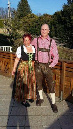 Jennersdorf, Østerrike: Delia & Maik, wir kümmern uns um unsere Gäste