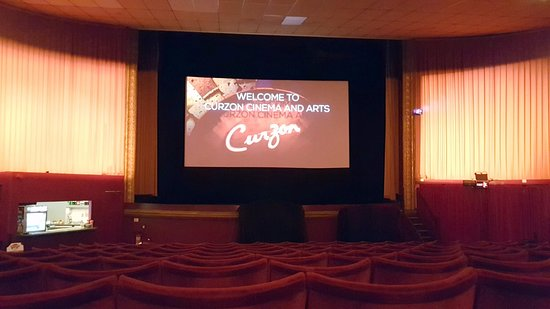 Clevedon, UK: Curzon auditorium