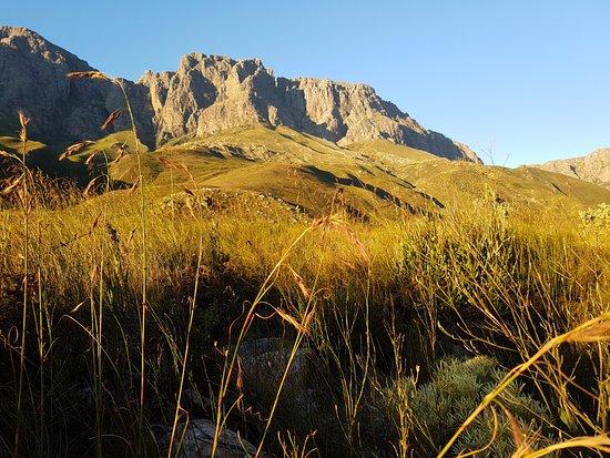 Stellenbosch, África do Sul: Jonkershoek mountain
