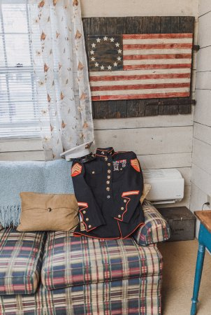 Ephrata, Πενσυλβάνια: Portion of the rental from The Patriot Suite is donated quarterly to a rotating military charity