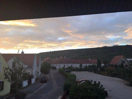 Кремс, Австрия: Abendstimmung Balkon