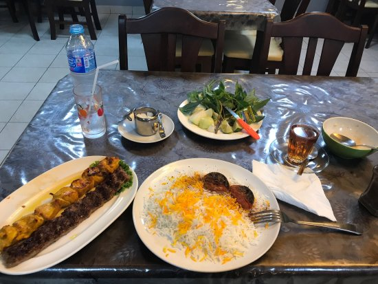 Authentic and delicious Persian food