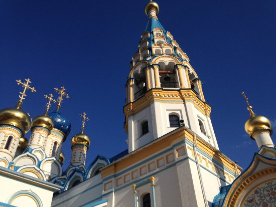 Temple of Our Lady's Icon of Fadeless Color in Rublev