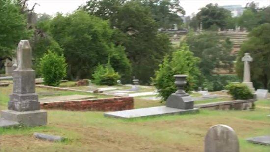 Hank Williams Memorial - Oakwood Annex Cemetery: cemetery