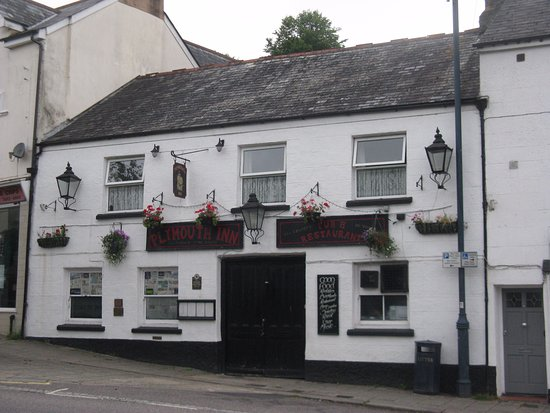 The Plymouth Inn, Okehampton, was closed on my sunday visit in July 2017..