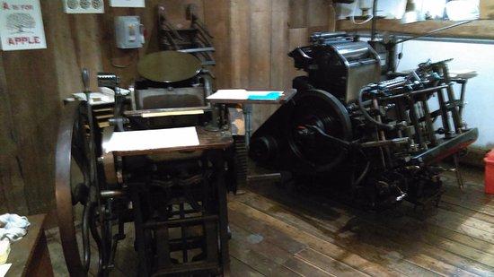 Shelburne, VT: Print shop
