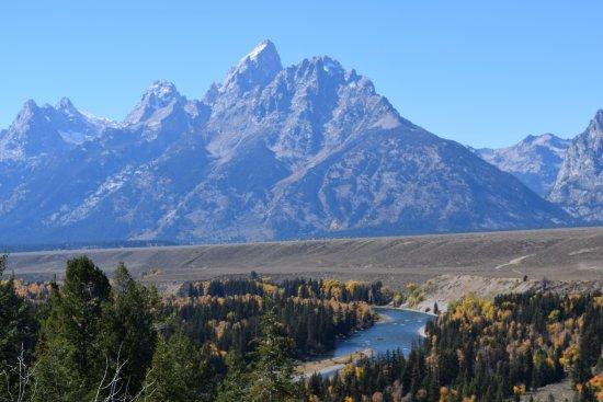 Grand Teton: Magnificent mountains.