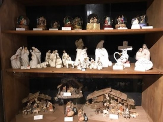 Berlin, OH: A few nativity pieces, we also have a large selection of Fontanini available.