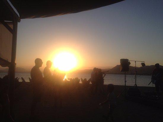 La Azohia, Ισπανία: La Rockola sunset