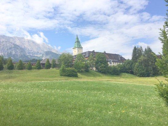 Schloss Elmau: Anfahrt