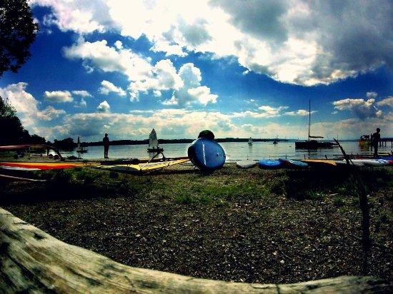 SUP und Surf in Eching am Ammersee