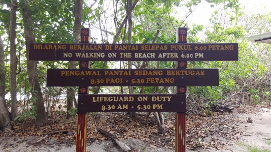 Turtle Island Park: Very strict rules