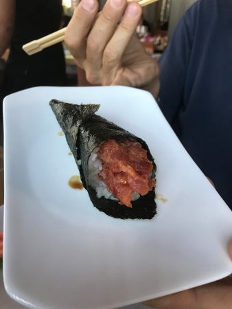 Corsico, Italy: Temaki spicy Tuna