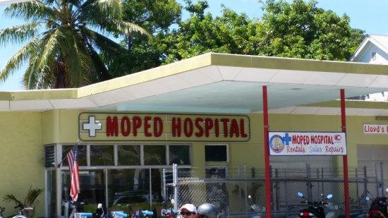 Moped Hospital Rentals