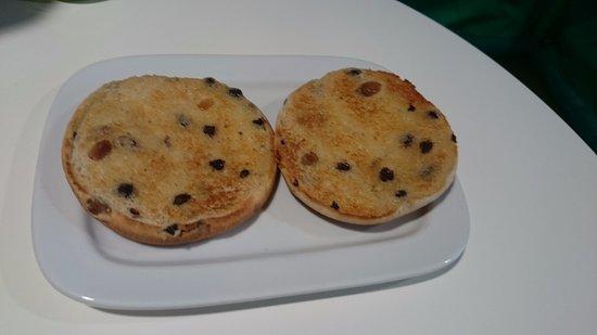 Leigh, UK: Teacakes for my son
