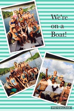 Exodus Boat Charters: From our excursion! Coolest guys ever! Thanks so much for the best time!!!!