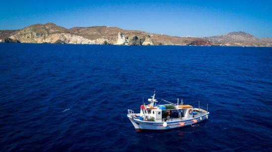 Vlychada, Grèce : white beach