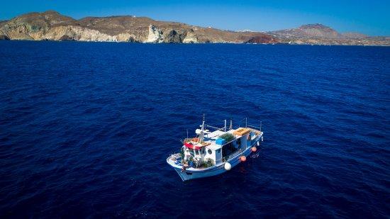 Vlychada, Grèce : 120 meters depth