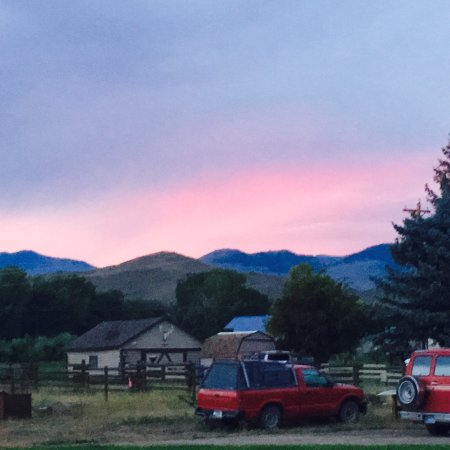 Melrose, MT: Wonderful view