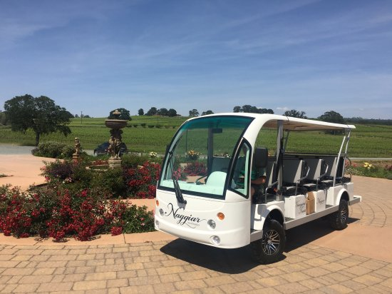 Grass Valley, Kalifornien: Eco Shuttle Vineyard tours run every weekend