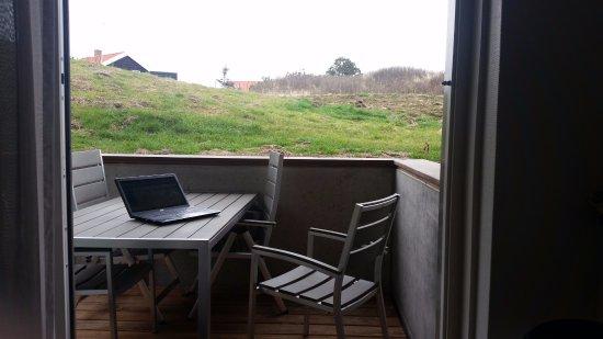 Vlieland, Países Baixos: View from apartment