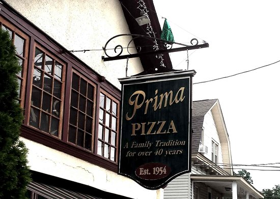 Cornwall, Estado de Nueva York: Prima Pizza Sign