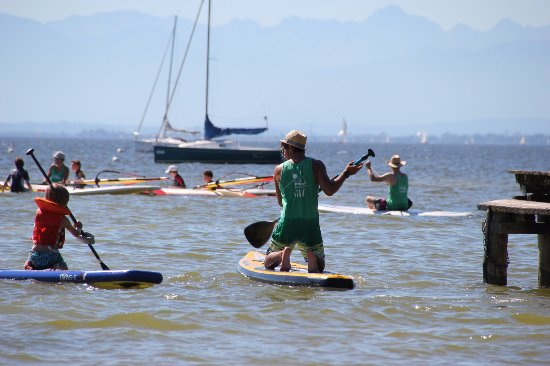 Eching, Jerman: SUP mit Kids