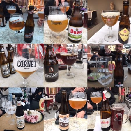 Oudenaarde, Belgium: many varieties of beer