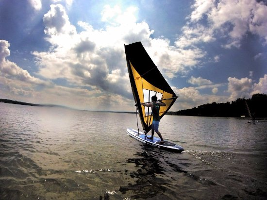 Eching, Jerman: Wind-SUP