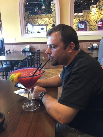West Chester, OH: another view of a huge margarita