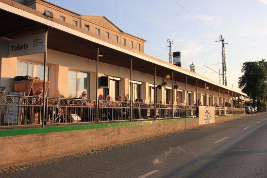 """Pirna, Deutschland: """"Steuerbord""""-Terrasse"""