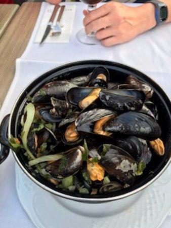 Oudenaarde, Belgien: mussels(seasonal)