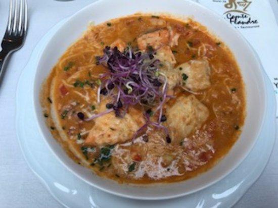 Oudenaarde, Belgien: fish stew