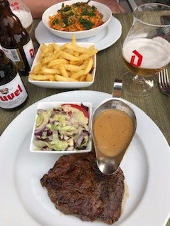 Oudenaarde, Belgien: Angus Beef Entrecôte