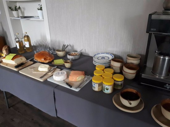 Nord, France : le buffet