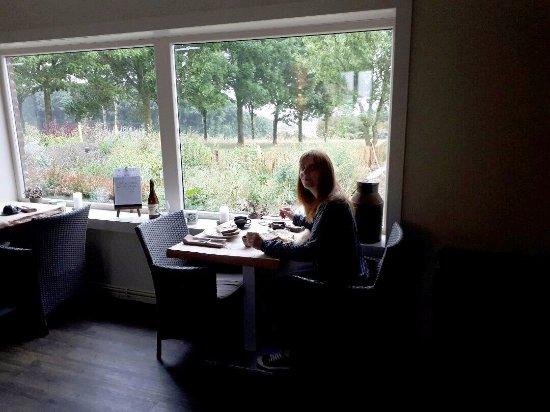 Nord, France : la salle à déjeuner