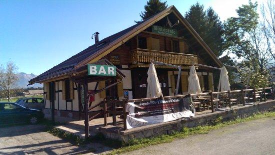 Tambre, Italia: Ristorante Bar Capanna Genziana