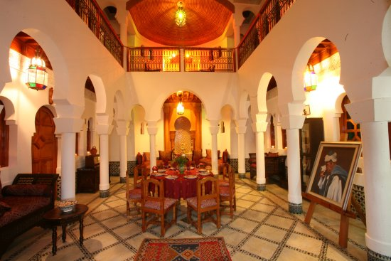Riad Moulay: patio 2 du riad
