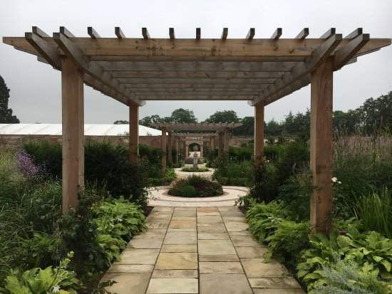 Looking through the garden frames from the Bol tower - Picture of ...