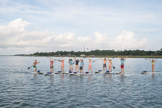 Folly Beach, SC: Come have SUP fun with us!