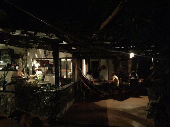 Reserva Biologica Caoba : Restaurant area