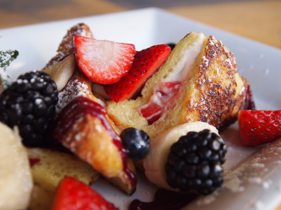 Poway, CA: Delicious Stuffed French Toast